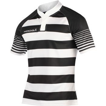 Abbigliamento Bambino T-shirt maniche corte Kooga K106B Nero/Bianco