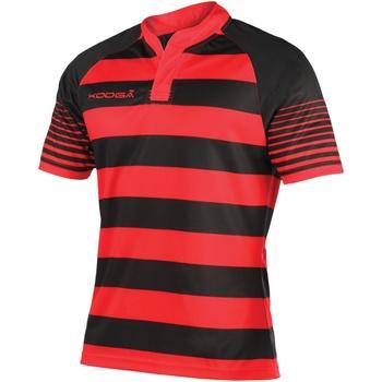 Abbigliamento Bambino T-shirt maniche corte Kooga K106B Nero/Rosso