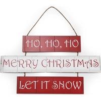 Casa Decorazioni natalizie Christmas Shop (59 x 36 cm) RW3840 Rosso/Bianco