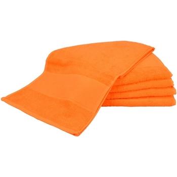 Casa Asciugamano e guanto esfoliante A&r Towels Taille unique Arancione brillante