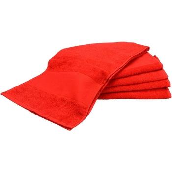Casa Asciugamano e guanto esfoliante A&r Towels Taille unique Rosso fuoco