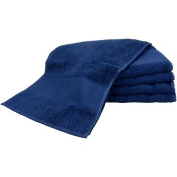 Casa Asciugamano e guanto esfoliante A&r Towels Taille unique Blu navy