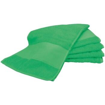 Casa Asciugamano e guanto esfoliante A&r Towels Taille unique Verde Irlandese