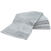 Casa Asciugamano e guanto esfoliante A&r Towels Taille unique Grigio chiaro