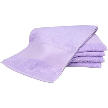 Casa Asciugamano e guanto esfoliante A&r Towels Taille unique Viola chiaro