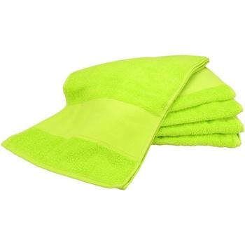 Casa Asciugamano e guanto esfoliante A&r Towels RW6038 Verde lime