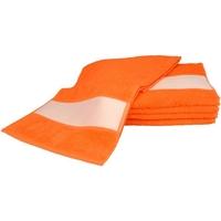 Casa Asciugamano e guanto esfoliante A&r Towels 30 cm x 140 cm RW6042 Arancione brillante