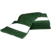 Casa Asciugamano e guanto esfoliante A&r Towels 30 cm x 140 cm Verde scuro