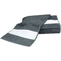 Casa Asciugamano e guanto esfoliante A&r Towels 30 cm x 140 cm Grafite