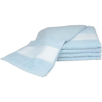 Casa Asciugamano e guanto esfoliante A&r Towels 30 cm x 140 cm RW6042 Azzurro