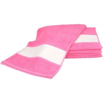 Casa Asciugamano e guanto esfoliante A&r Towels 30 cm x 140 cm RW6042 Rosa
