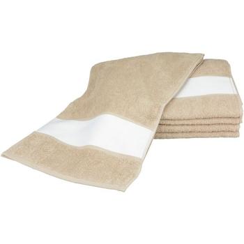 Casa Asciugamano e guanto esfoliante A&r Towels 30 cm x 140 cm RW6042 Sabbia