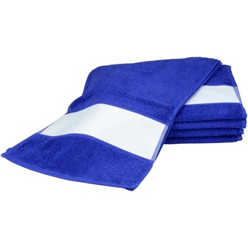 Casa Asciugamano e guanto esfoliante A&r Towels 30 cm x 140 cm Blu intenso