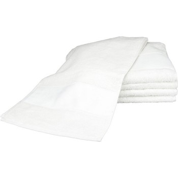 Casa Asciugamano e guanto esfoliante A&r Towels 30 cm x 140 cm Bianco