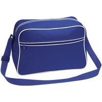 Borse Bambino Cartelle Bagbase BG14 Blu acceso/Bianco