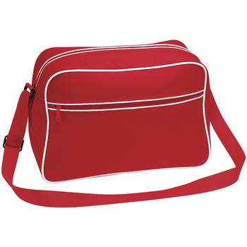 Borse Bambino Cartelle Bagbase BG14 Rosso/Bianco