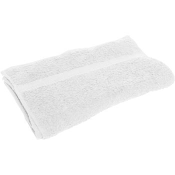 Casa Asciugamano e guanto esfoliante Towel City RW1584 Bianco