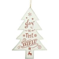 Casa Decorazioni natalizie Christmas Shop Taille unique White Joy