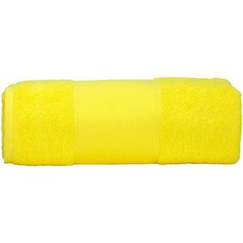 Casa Asciugamano e guanto esfoliante A&r Towels RW6039 Giallo brillante
