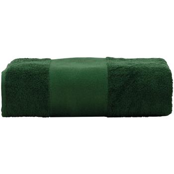 Casa Asciugamano e guanto esfoliante A&r Towels Taille unique Verde scuro