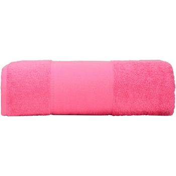 Casa Asciugamano e guanto esfoliante A&r Towels RW6039 Rosa