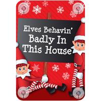 Casa Decorazioni natalizie Christmas Shop Taille unique Elves behaving badly in this house