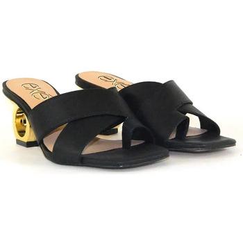 Scarpe Donna Ciabatte Exé Shoes BRENDA_277 Nero
