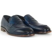 Scarpe Mocassini Exton 5378_FORATO_JEANS Blu