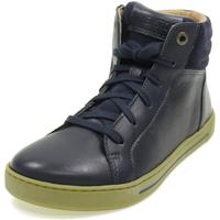 Scarpe Bambino Sneakers alte Birkenstock PORTO MID KIDS BLU