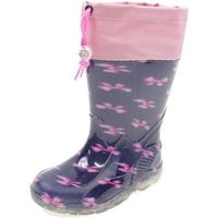 Scarpe Bambina Stivali da pioggia Diamantino GG500BF BLU