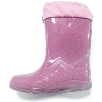 Scarpe Bambina Stivali da pioggia Diamantino GG500F FUXIA