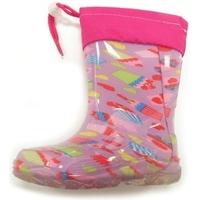 Scarpe Bambina Stivali da pioggia Diamantino GG500 ROSA