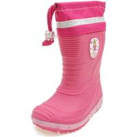 Scarpe Bambina Stivali da pioggia Diamantino NGG500F FUXIA