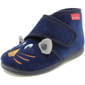 Scarpe Bambino Pantofole Diamantino OL1109B BLU