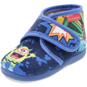 Scarpe Bambino Pantofole Diamantino OL1121B BLU