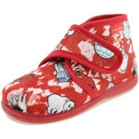 Scarpe Bambino Pantofole Diamantino OL1121R ROSSO
