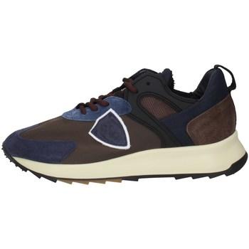 Scarpe Uomo Sneakers basse Philippe Model RLLUWI01 MARRONE