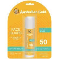 Bellezza Protezione solari Australian Gold Face Guard Spf50 Sunscreen Stick 14 Gr