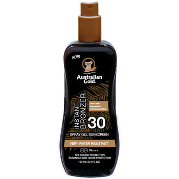 Bellezza Protezione solari Australian Gold Sunscreen Spf30 Spray Gel With Instant Bronzer