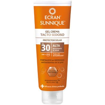 Bellezza Protezione solari Ecran Sunnique Gel Crema Tacto Seda Spf30