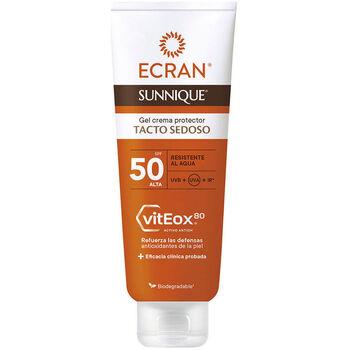 Bellezza Protezione solari Ecran Sunnique Gel Crema Tacto Seda Spf50