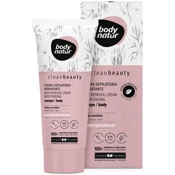 Bellezza Donna Accessori per il corpo Body Natur Clean Beauty Crema Depilatoria Hidratante Cuerpo