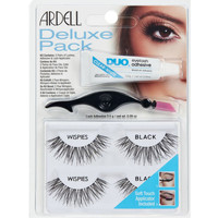 Bellezza Donna Mascara Ciglia-finte Ardell Kit Deluxe Pack Wispies Black Lote