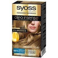 Bellezza Donna Tinta Syoss Olio Intense Tinte Sin Amoniaco 7.10-rubio Natural