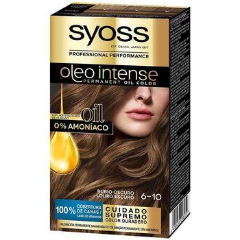 Bellezza Donna Tinta Syoss Olio Intense Tinte Sin Amoniaco 6.10-rubio Oscuro