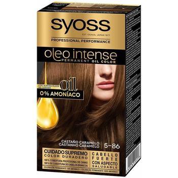 Bellezza Donna Tinta Syoss Olio Intense Tinte Sin Amoniaco 5.86-castaño Caramelo
