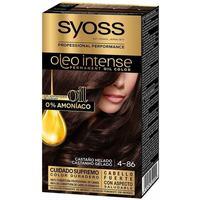 Bellezza Donna Tinta Syoss Olio Intense Tinte Sin Amoniaco 4.86-castaño Helado
