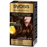 Bellezza Donna Tinta Syoss Olio Intense Tinte Sin Amoniaco 4.18-chocolate