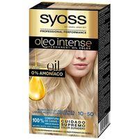 Bellezza Donna Tinta Syoss Olio Intense Tinte Sin Amoniaco 10.50-rubio Claro Ceniza 5
