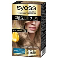 Bellezza Donna Tinta Syoss Olio Intense Tinte Sin Amoniaco 8.50-rubio Ceniza